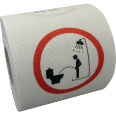 Klopapier - Duschpinkeln verboten
