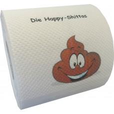 Klopapier -Sammlung die HappyShittos - unsere Scheißhaufen