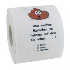 Klopapier - Toiletten-Quiz