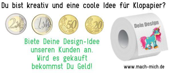 Biete Dein Design unseren Kunden an