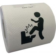 Klopapier - Toilettentritt