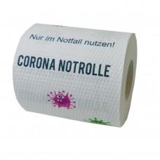 Corona Klopapier Sammelrolle No3: Corona Notrolle