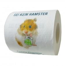 Corona Klopapier Sammelrolle No5: Sei kein Hamster